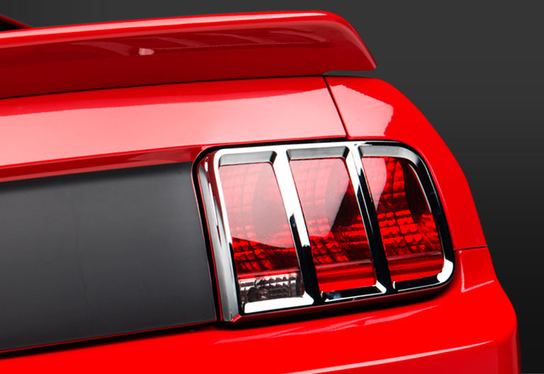 MMD Tail Light Trim - Chrome<span>Available in Pre-Painted, Matte Black &amp; Chrome</span>